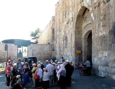 Drumul Crucii - Poarta Sfantului Stefan sau Poarta Leilor