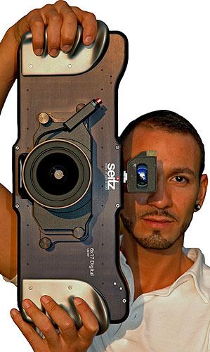 Seitz 6x17 Panoramic Camera'' digital panoramic camera