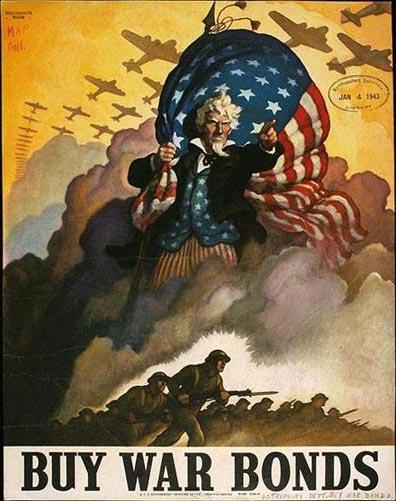 Image result for uncle sam world war 2