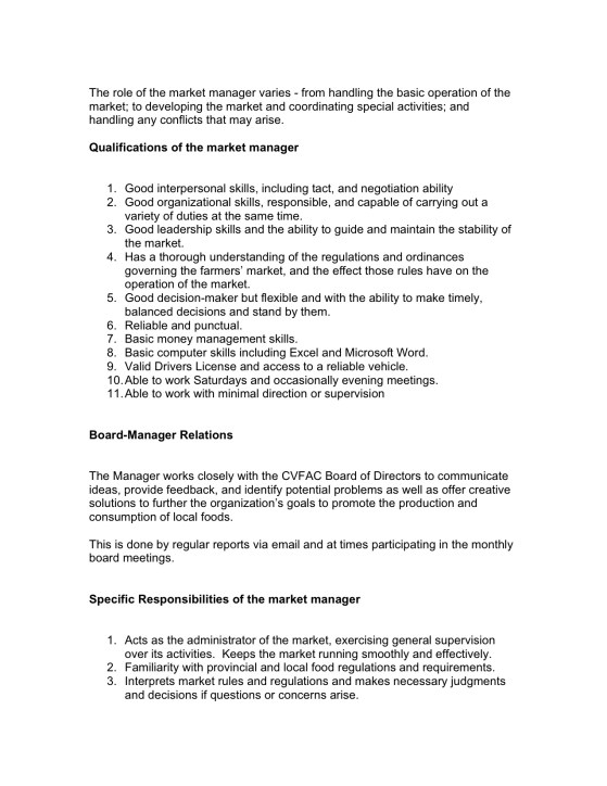 Market Manager Job Description Jpeg   Creston Valley Food Action