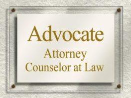 Advocate signage
