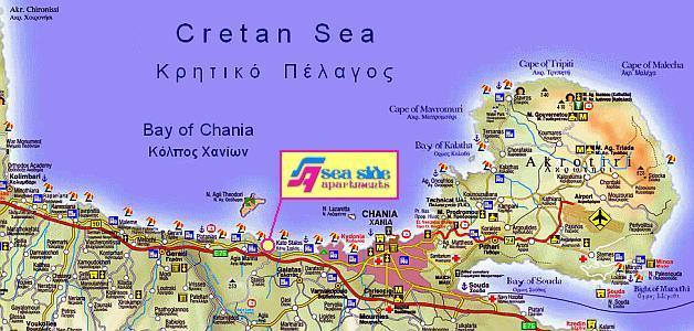 SEA SIDE Apartments Kato Stalos GR 73100 Chania Tel