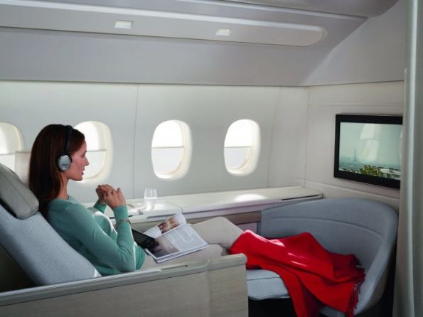Air France luxury travelling 003