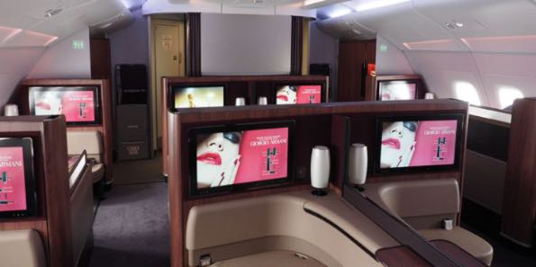Qatar Airways luxury travelling 001