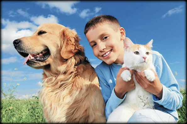 kids-with-pets
