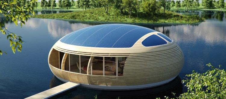 Ένα μίνι πλωτό lux σπίτι άκρως πανάκριβο