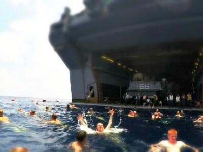 Η χαλάρωση των ναυτών του ΠΝ των ΗΠΑ