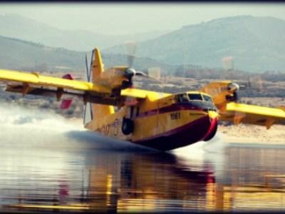 Τι βλέπει ένας πιλότος πυροσβεστικού Canadair