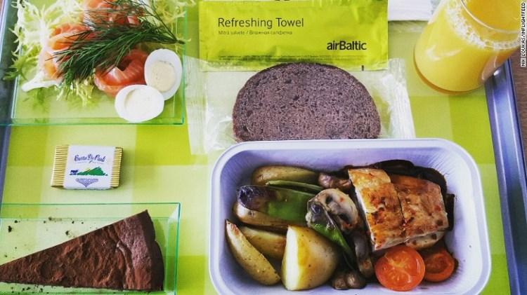 Σύστημα παραγγελίας φαγητού που επιτρέπει στον επιβάτη να παραγγείλει ακριβώς αυτό που επιθυμεί.