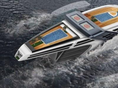 Seataci, ένα φουτουριστικό οικολογικό yacht