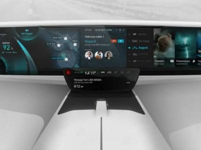 Ταμπλό αυτοκινήτου από το μέλλον