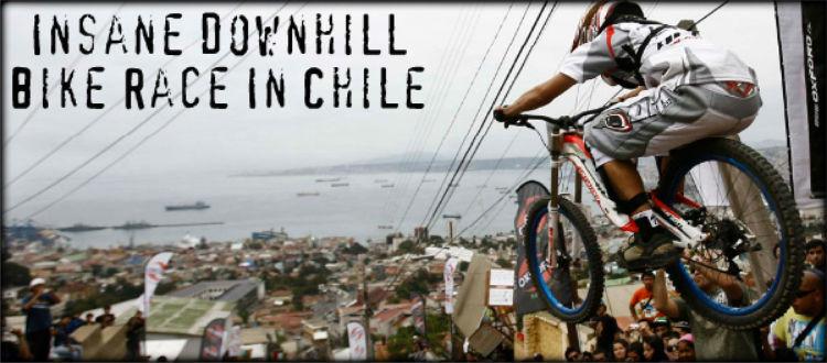 Απίστευτο Downhill με ποδήλατο