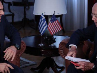 Ο Τσίπρας είναι σαφώς υπέρ της Αμερικής