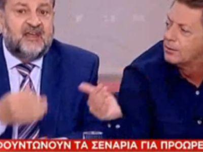 Τραμπουκισμοί Κεγκέρογλου σε δημοσιογράφο on air