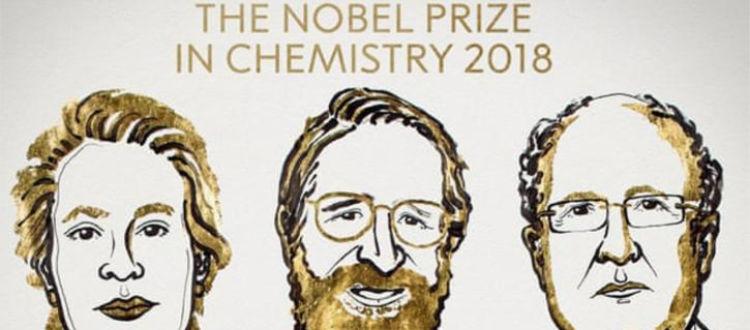 Ποιοι πήραν το Νόμπελ Χημείας 2018
