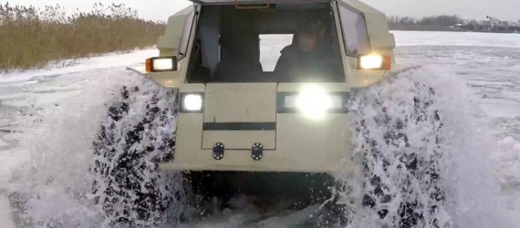 Το απόλυτο όχημα για τον χιονιά