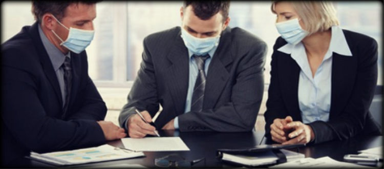 Μέτρα προφύλαξης κατά της γρίπης στην εργασία
