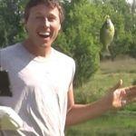 Ο hitech ψαράς με το drone