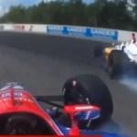 Σφοδρή σύγκρουση σε πίστα αγώνων ταχύτητας