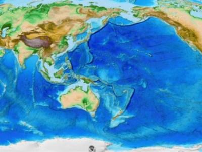 Πως είναι πραγματικά ο χάρτης της γης\