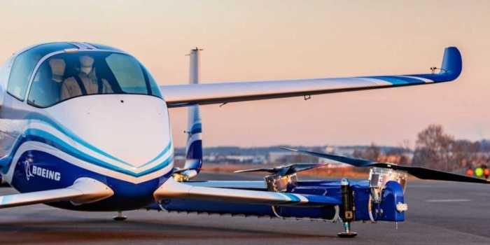 Το ιπτάμενο αυτοκίνητο της Boeing