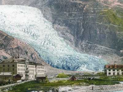 Ρεκόρ στο λιώσιμο των παγετώνων στην Ελβετία