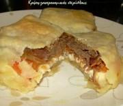 Σουχλί: ένα νόστιμο «πακετάκι» με κρέας και τυρί