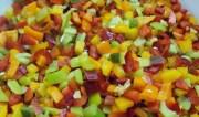 Πιπεριές στην κατάψυξη και μια νόστιμη πιπερόπιτα με ξινομυζήθρα και μανιτάρια!