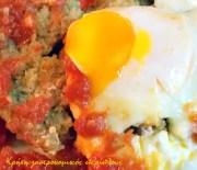 Αυγά μάτια με ντομάτα και ένα «κρητικό» croque madame!