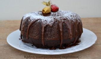 Σοκολατένιο κέικ με κακάο και ελαιόλαδο (κατά προτίμηση αγουρέλαιο)