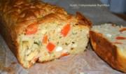 Αλμυρό κέικ καρότου με ελαιόλαδο