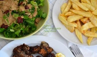 Σάλτσα – άλειμμα  με ταχίνι: για σαλάτες, για πατάτες, για λαγάνες (και όχι μόνο)