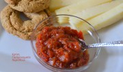 Γλυκόξινη, πικάντικη μαρμελάδα ντομάτας (chutney ντομάτας)