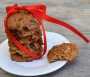 Μαλακά cookies βρώμης με ξερά φρούτα και σοκολάτα