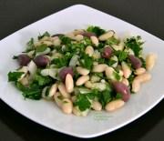 Ξερά φασόλια σαλάτα: το πιάζι ή πιάζ