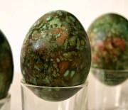 Αυγά βαμμένα με κρεμμυδόφυλλα (δεύτερος τρόπος)