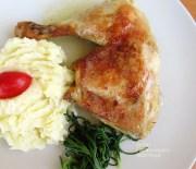 Κοτόπουλο με γιαούρτι στο φούρνο