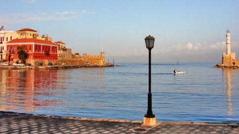 Το παλιό λιμάνι των Χανίων σήμερα