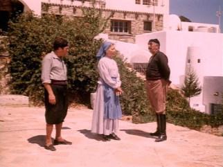 Σκηνή από την ταινία στη Βίλα Κούνδουρου