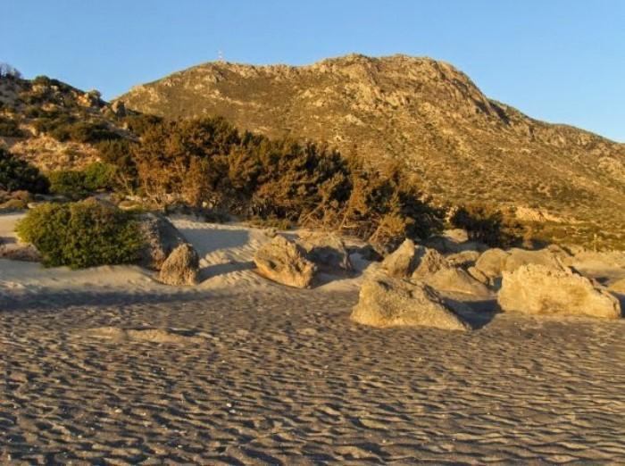 Παραλία Κεδρόδασος - Κρήτη