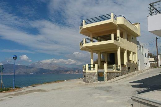 Two seaside shops in Kalamaki