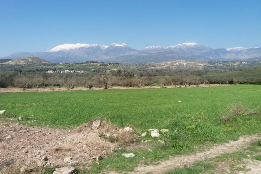 Building plot out of Agios Ioannis village