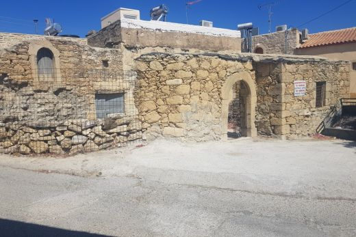 Traditional stone house at Sivas without roof