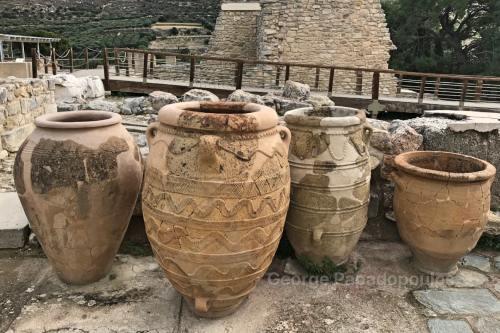 Knossos Minoan Pithoi