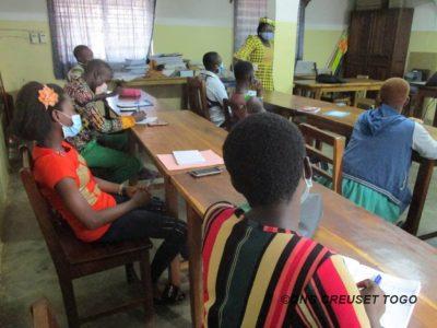 Les OSC Jeunes disent oui à la résilience face au COVID-19 à Sotouboua