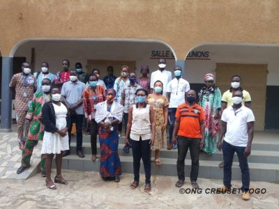 Plan international Togo et les champions du changement à Sokodé