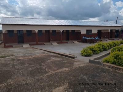 Réception provisoire des travaux d'aménagement  et de construction de l'orphelinat Saint Joseph de Bassar