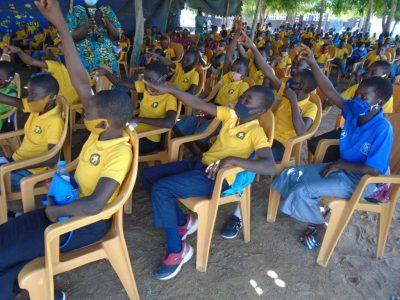 31ème anniversaire de la CDE, CREUSET- Togo et le CDEJ Bethel à la rencontre des enfants et parents