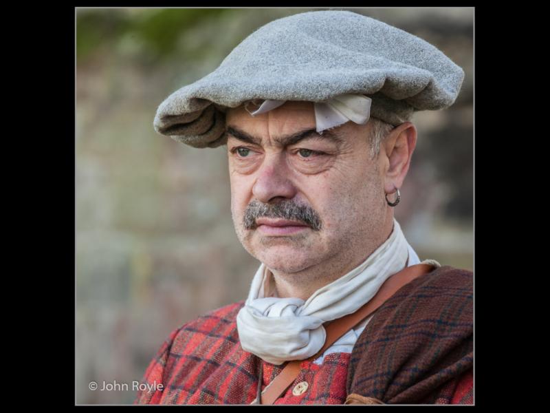 John Royle – 3_Reenactor as Jacobite_P_33_Print-2