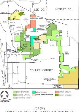 CREW Acq. Map 2004